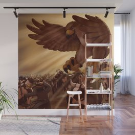 Giant Bird of Prey Wall Mural