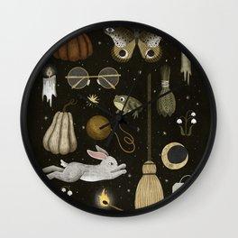 october nights Wall Clock
