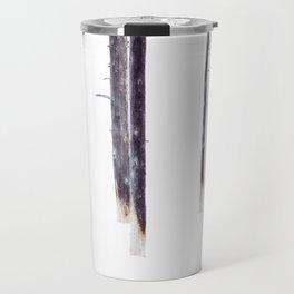 Bare Trees in Winter Travel Mug
