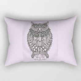 Alice the Wise Owl Rectangular Pillow