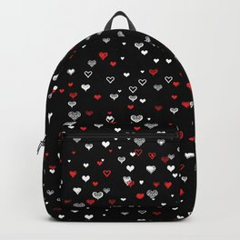 Black Valentine Backpack