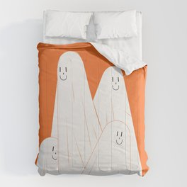 Cute ghost clip art, Independence fun art, Halloween clip art haunted spooky digital designs . Comforters
