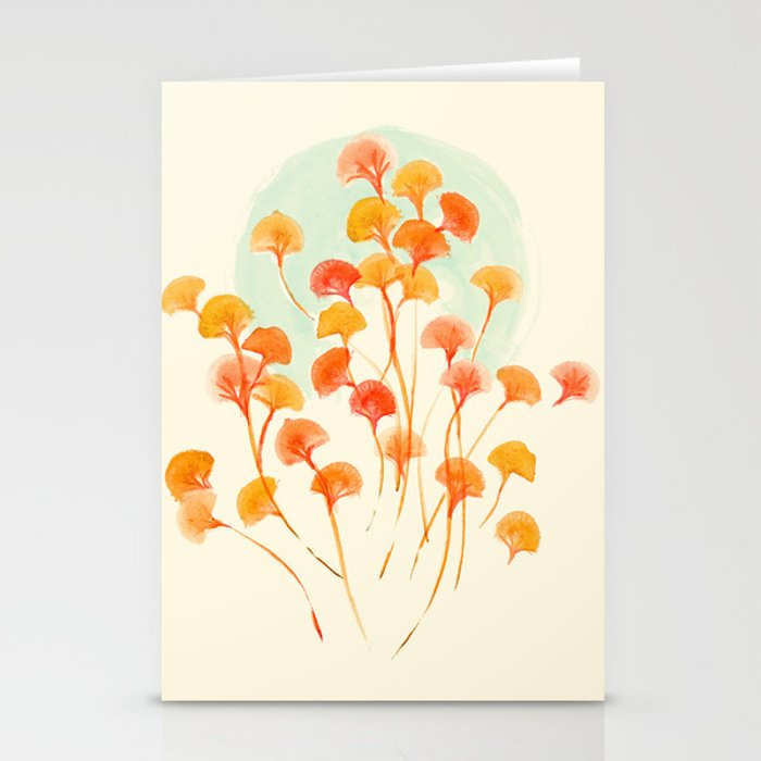 The bloom lasts forever Stationery Cards