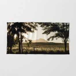 Sunset in the Mountains Hand & Bath Towel