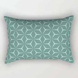 Cubic Pattern IX Rectangular Pillow