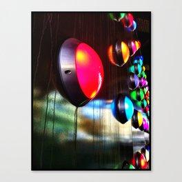 Coloured lights  Canvas Print