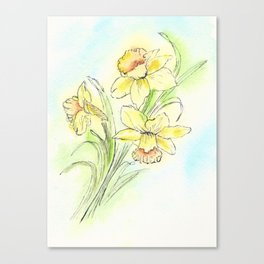 Yearning for Spring Canvas Print