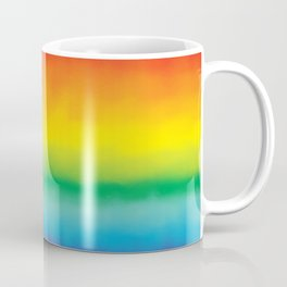 Watercolor Rainbow Coffee Mug