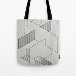 lines 1 Tote Bag