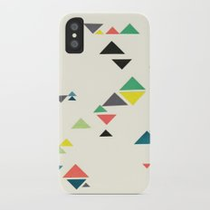 Triangles iPhone X Slim Case