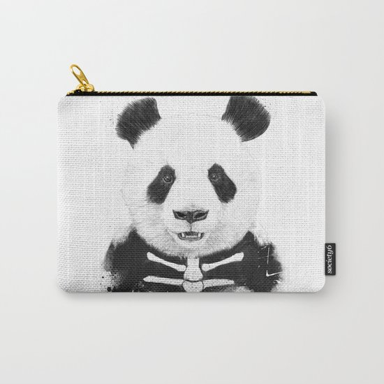 Zombie panda Carry-All Pouch