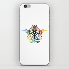 Bassnectar Family Crest (Color) iPhone Skin