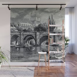 Cathedrals, abbeys and churches of England and Wales Wall Mural