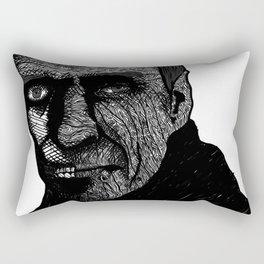 Misterious Man Rectangular Pillow
