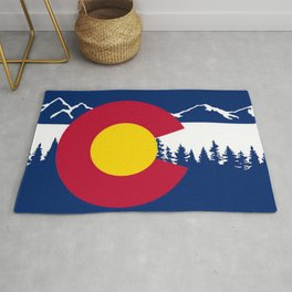 Colorado flag Rug
