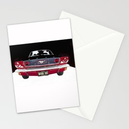 Vintage Mustang Classic Car Stationery Cards