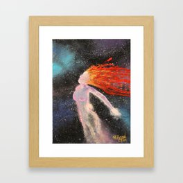 Mother of the Universe Framed Art Print