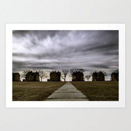 Storm drama II Art Print