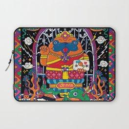Pug Nang Kwak – Thai Goddess Of Wealth Laptop Sleeve