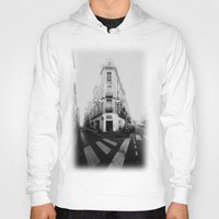 france Hoodies featuring Monochrome France by MarioGuti