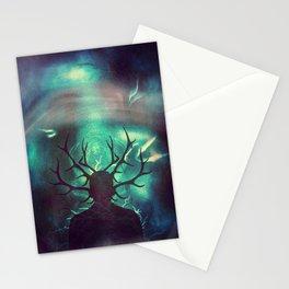 Deer Dreams II Stationery Cards