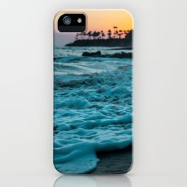 Wavy Waters In California In The Summer iPhone Case