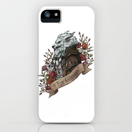 Old Wolf iPhone Case