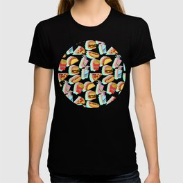 Rainbow Fast Food T-shirt