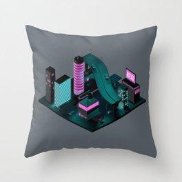 Nippon 2061 Throw Pillow