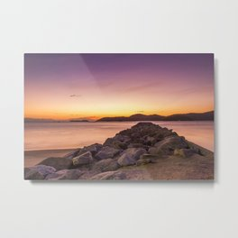Soft Rocks Metal Print