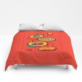 Scribbles 03 in Color Comforters