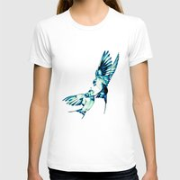 birds T-shirts featuring Birds by Nuam