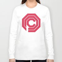 robocop Long Sleeve T-shirts featuring Robocop by FilmsQuiz