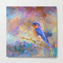 Bring On The Bluebirds Metal Print
