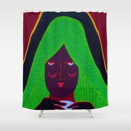 Rosalee Seezall Shower Curtain