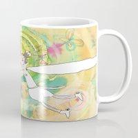wedding Mugs featuring wedding by Agata Kowalska