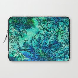 Blue is the Colour of Calm. Laptop Sleeve