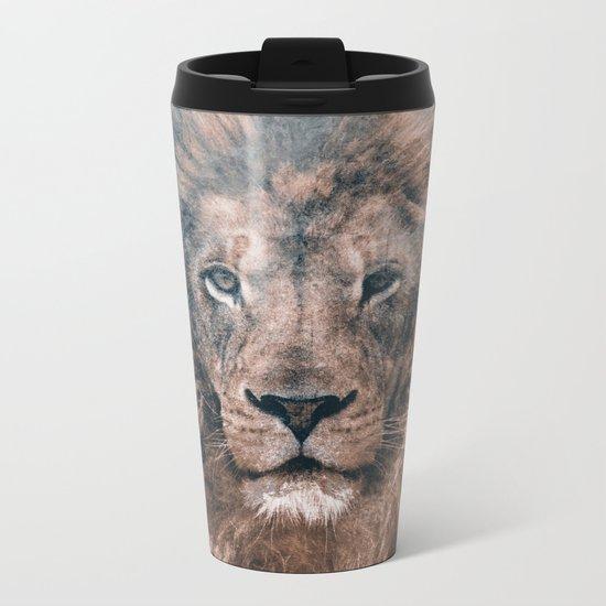 LION 2 Metal Travel Mug