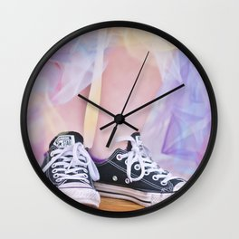 Happy Shoes Wall Clock
