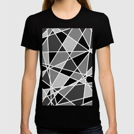 Shattered Charcoal T-shirt