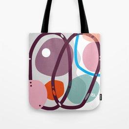 BURGUNDY RINGS Tote Bag