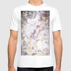 esterno autunnale MEDIUM Mens Fitted Tee White