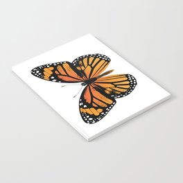 Monarch Butterfly | Vintage Butterfly | Notebook