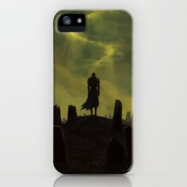 Dying alone iPhone Case
