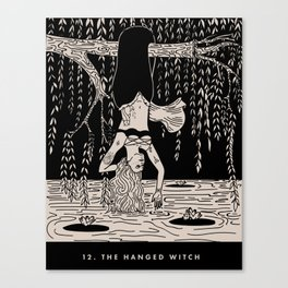 12. THE HANGED WITCH Canvas Print