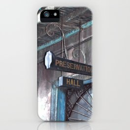 A Music Haven: Preservation Hall iPhone Case