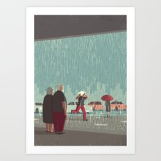 Day Trippers #6 - Downpour Art Print