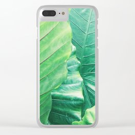 tropical plant 10 Clear iPhone Case