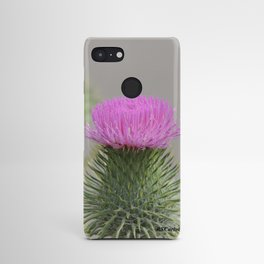 Thistle Bloom Android Case