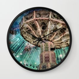 Dip Your Toes In the Stars Wall Clock